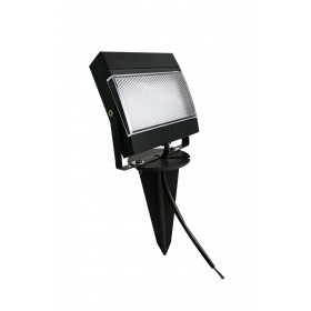 REFLETOR LED 7,5W ABS VERDE COM ESTACA